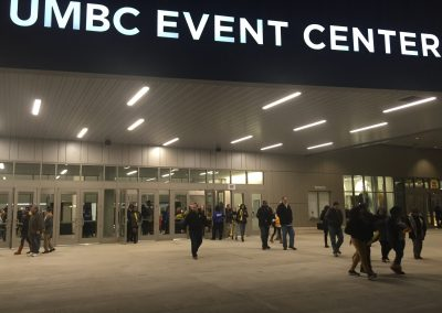 Exiting The Event Center