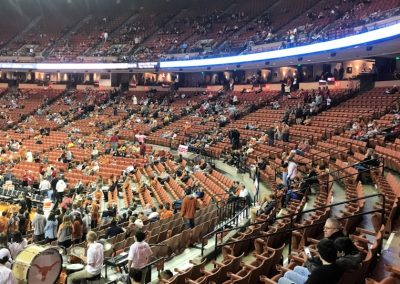 Frank Erwin Center Seating Levels