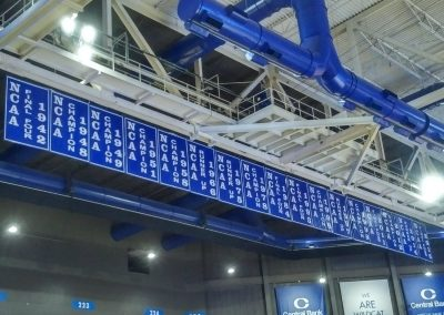 Championship Banners at Rupp Arena