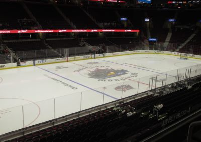 Quicken Loans Arena Ice Surface