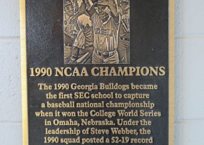 National Championship Plaque