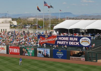 Party Deck in Right Field