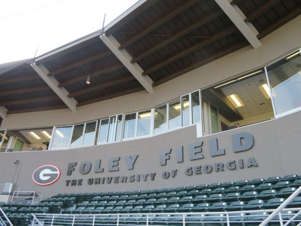 Pressbox at Foley Field