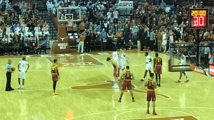 Ready for Tip-off inside the Frank Erwin Center