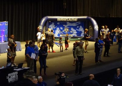 Royal Farms Arena, Games on Stage for the Kids