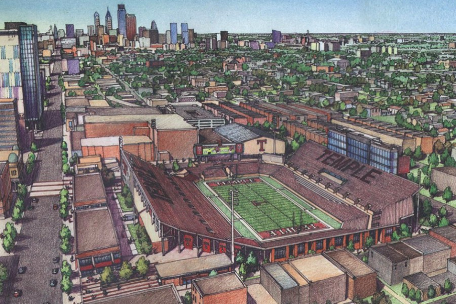 Opposition to Temple Football Stadium Grows Louder