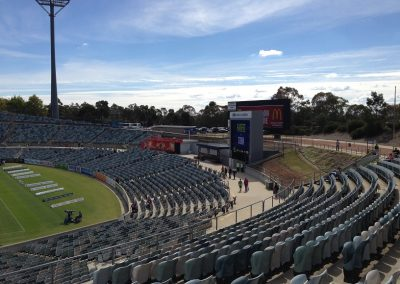 GIO Stadium Canberra - North End and Video Screen