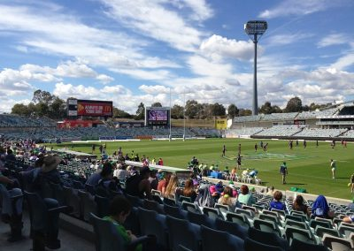 GIO Stadium Canberra - View from West Concourse