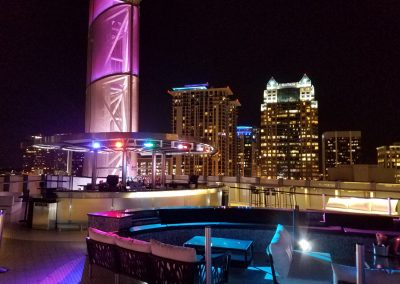 Amway Center, 180 Rooftop Bar