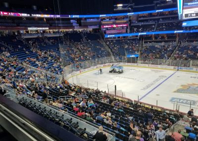 Amway Center, End Zone Seating