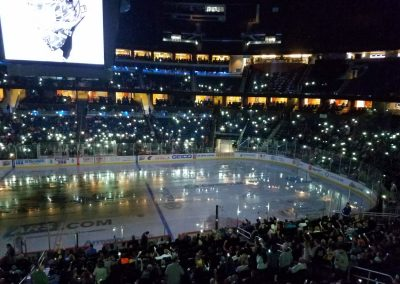 Amway Center, Lighting up the Arena