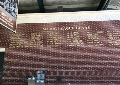 Baylor Ballpark, Baylor Bears in the Majors