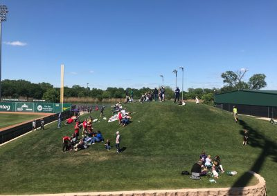 Baylor Ballpark, Grass Berm near Right Field