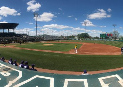 Baylor Ballpark, View from First Baseline