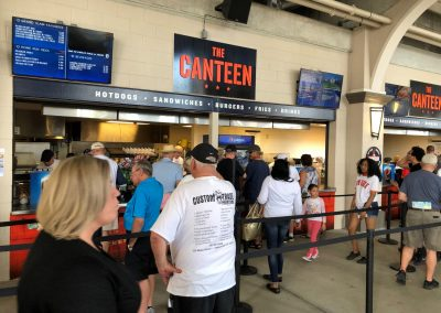 Detroit Tigers Spring Training at Publix Field at Joker Marchant Stadium, Concessions Stands