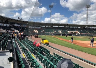 Detroit Tigers Spring Training at Publix Field at Joker Marchant Stadium, Lower Third Baseline Seating
