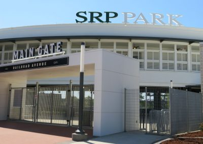 Exterior of SRP Park