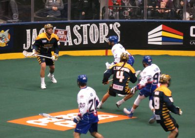 Game Action at Air Canada Centre