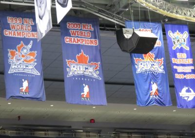 Championship Banners at Air Canada Centre