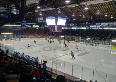 Game Action at Centre Georges Vezina