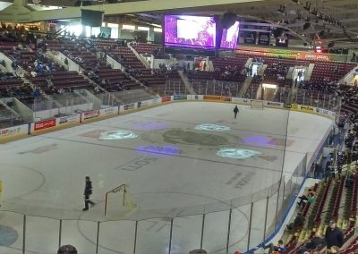 Intermission at Hershey Centre