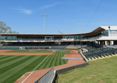 Interior of SRP Park