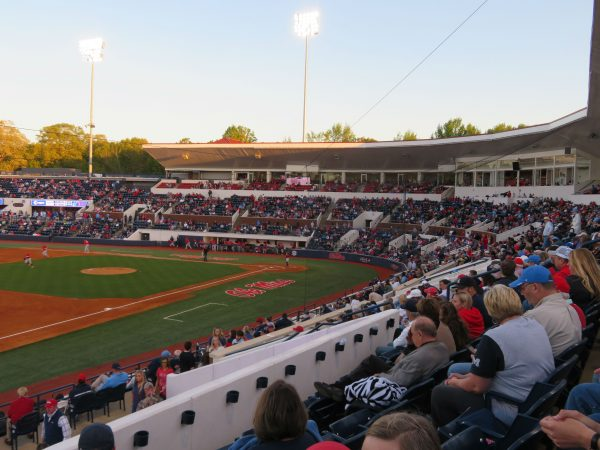Interior of Swayze Field