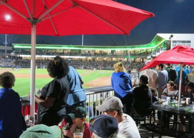 Left Field Patio Seating