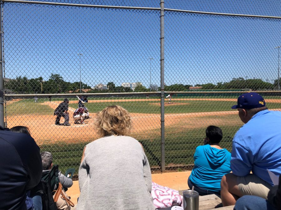 MacGregor Park, Texas Southern Fans Watch from Behind Home Plate
