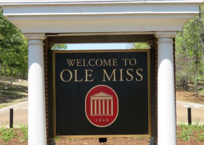 Ole Miss Entrance