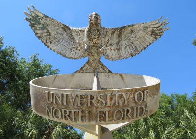 Osprey Scupture at UNF