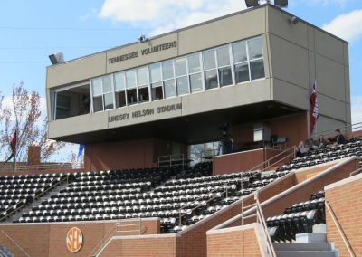 Pressbox and Reserved Seats