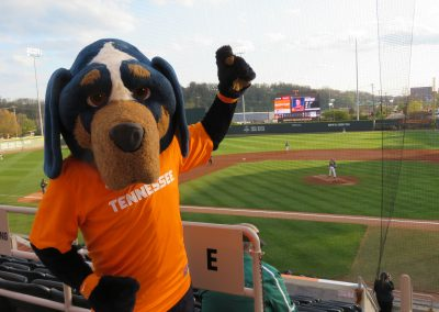 Smokey Shows Support for the Vols