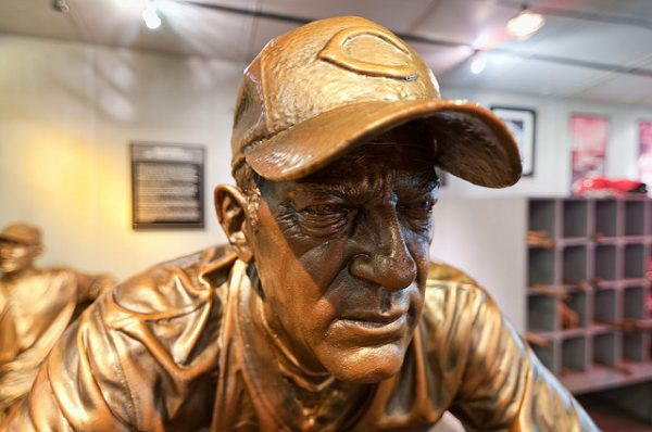 Sparky Anderson Statue at Reds Hall of Fame