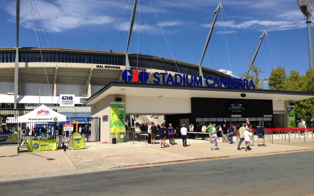 Australian Turnstiles – The End for Canberra Stadium?