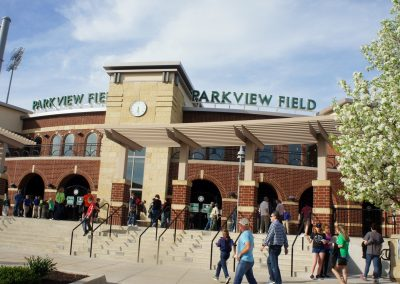 Parkview Field Entrance