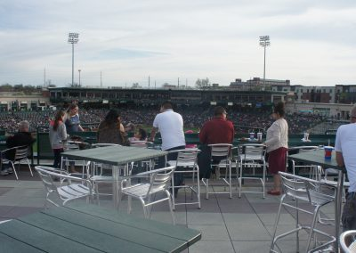 Parkview Field 400 Club Seats