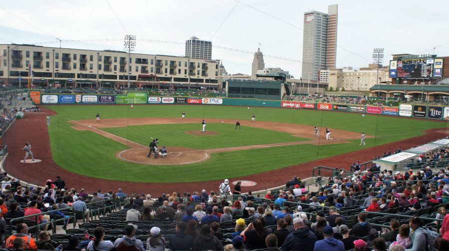 Parkview Field Backstop View