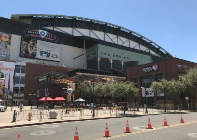 Chase Field, View from Jefferson and 4th Street