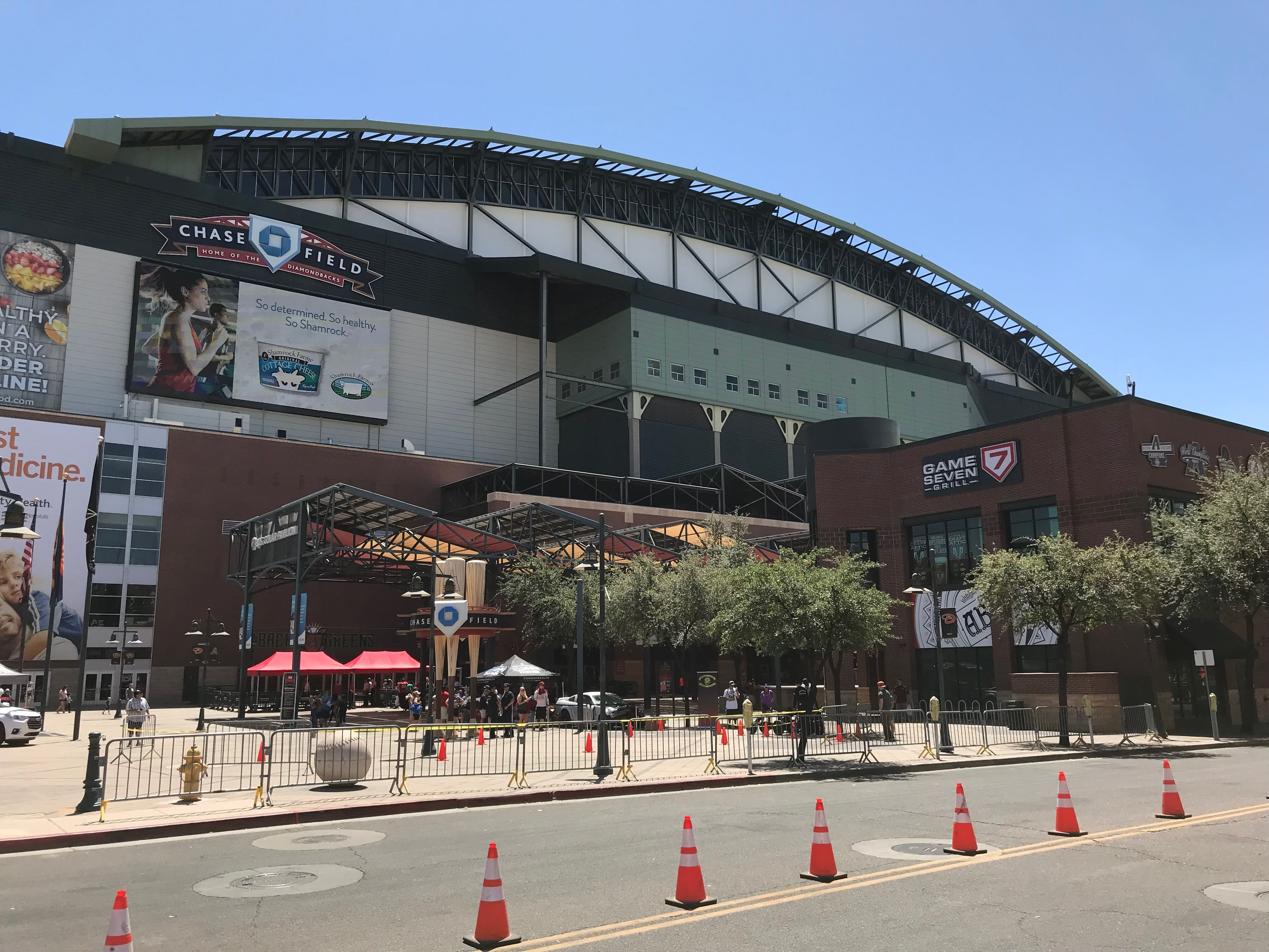 Chase Field View From Jefferson And 4th Street
