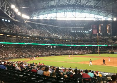 Chase Field, View of the Field