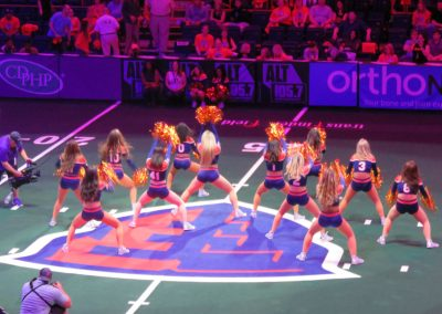 Empire Cheerleaders Perform at Times Union Center