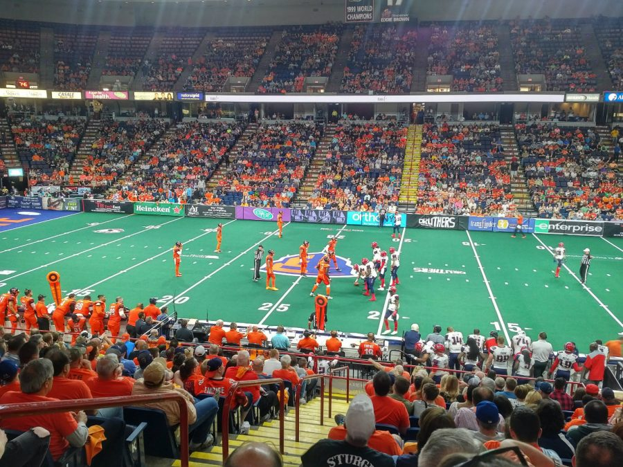Albany Empire Game Action at Times Union Center