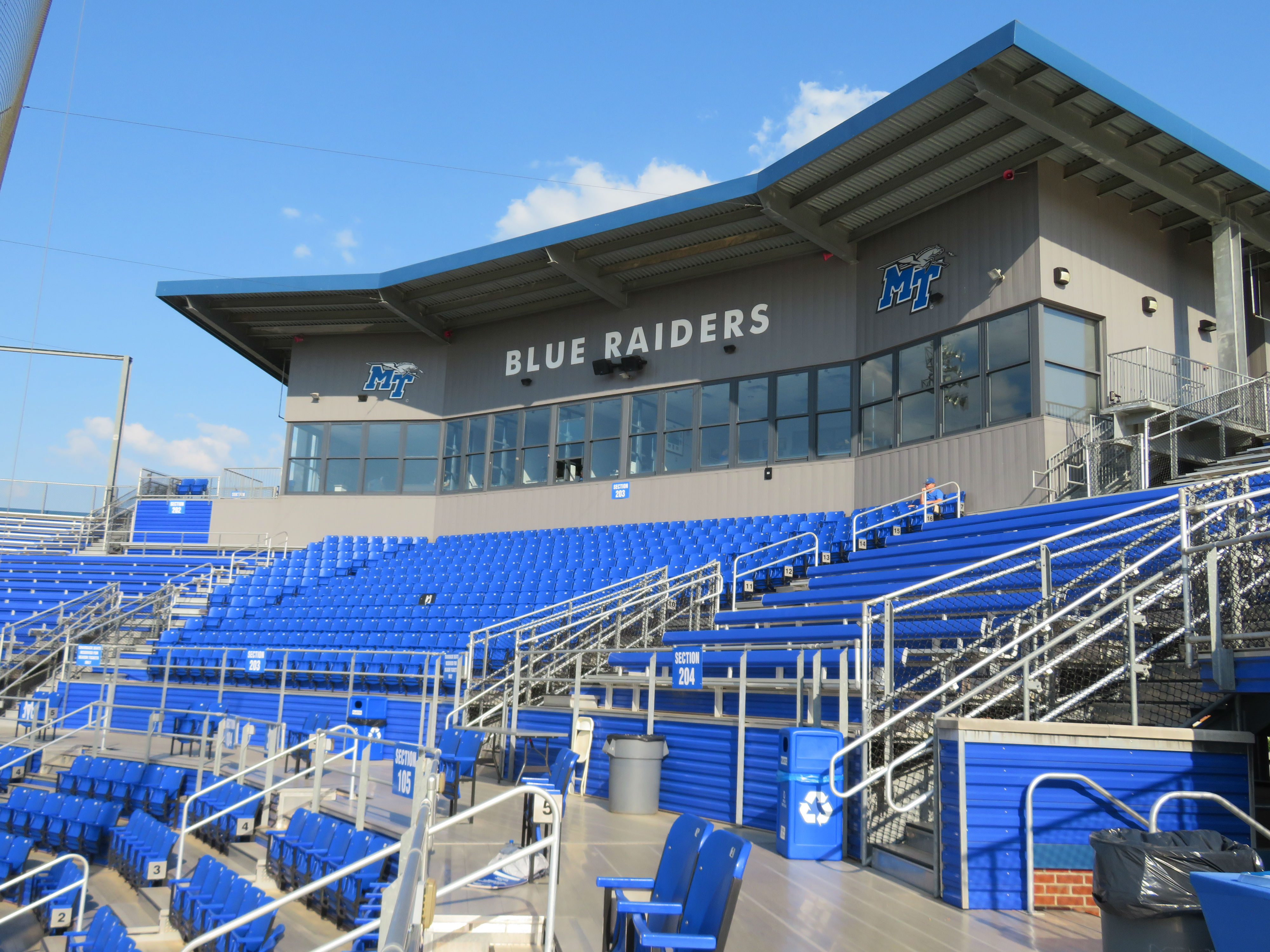 Reese Smith Jr. Field – Middle Tennessee State Blue ...
