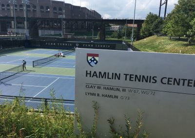 Overview of UPenn Tennis Facility