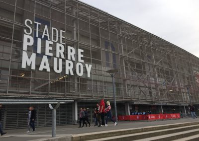 Stade Pierre-Mauroy Exterior Signage