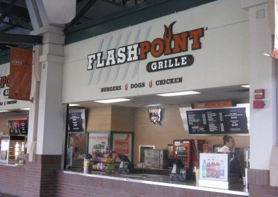 Chukchansi Park - FlashPoint Grille Concessions