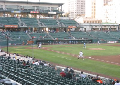 Chukchansi Park - View from First Base