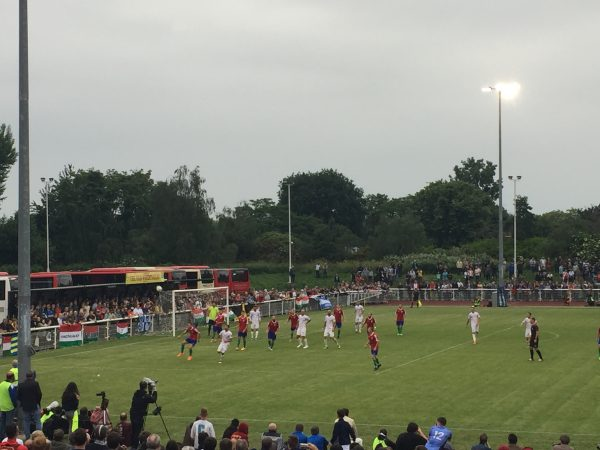 Match Action at CONIFA World Cup Final