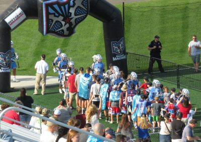 The Machine Get Ready to Take the Field